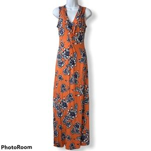 NWT Tommy Bahama Dress Maxi Sleeveless XS Floral